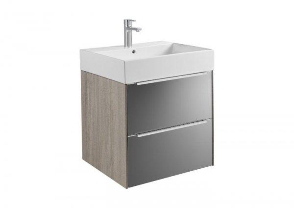 Inspira     Zestaw łazienkowy Unik z 2 szufladami       Wymiary:      Szerokość: 600 mm.      Głębokość: 498 mm.      Wysokość: 674 mm.