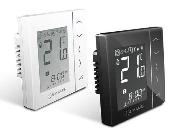 Bezprzewodowy, podtynkowy cyfrowy regulator temperatury sieci ZigBee, 230V Biały