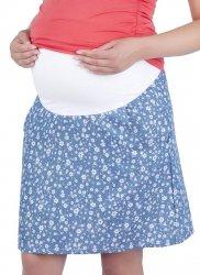 MijaCulture - spódnica na lato w kwiatowy wzór 7123