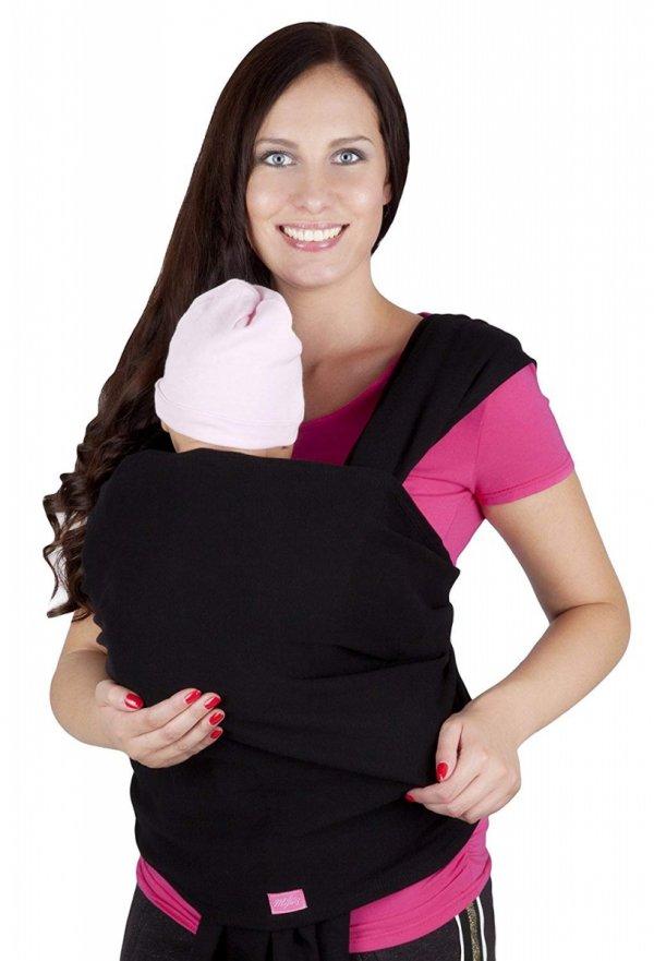 chusta do noszenia dzieci 4011/M28 czarny 2
