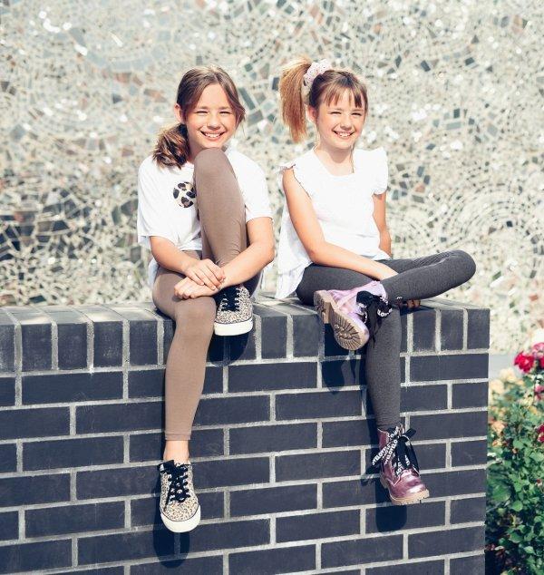 Legginsy dziewczęce getry dla dzieci ZOE turkus