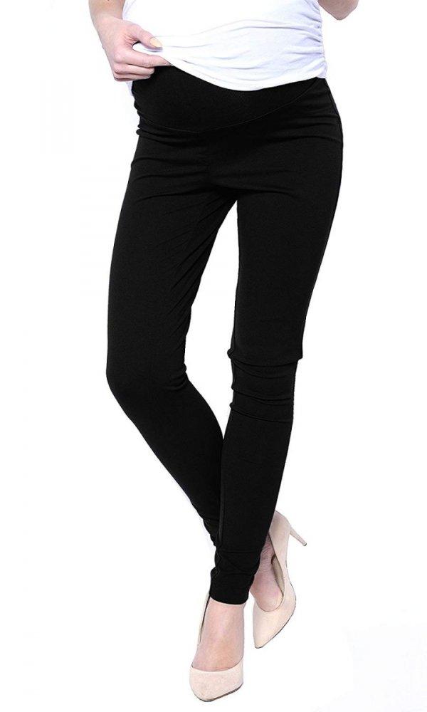 Uniwersalne spodnie ciążowe Lagon 1046 czarny 1