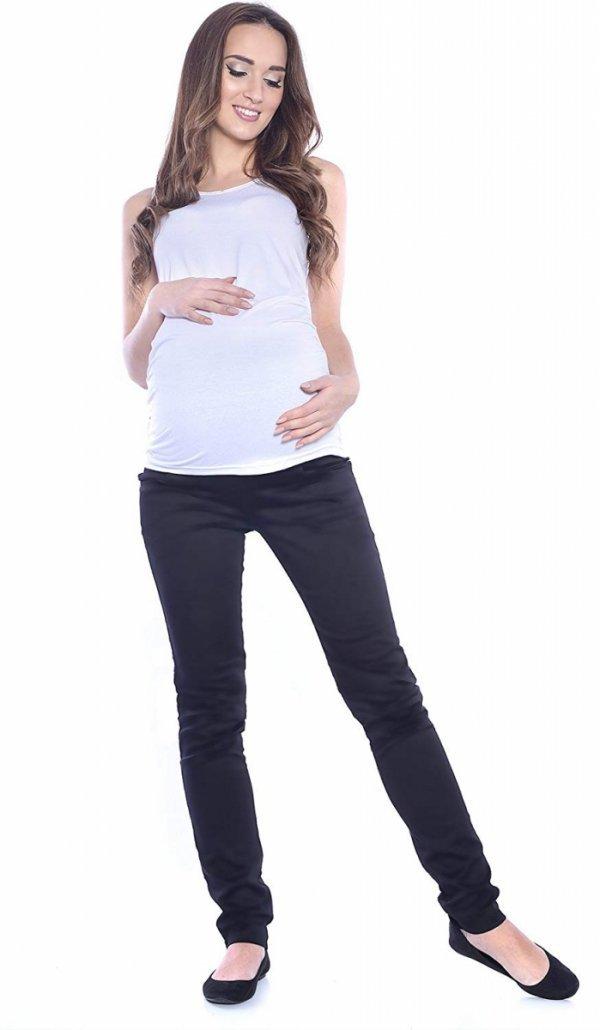 MijaCulture - spodnie rurki 4007/ M24 czarny 2