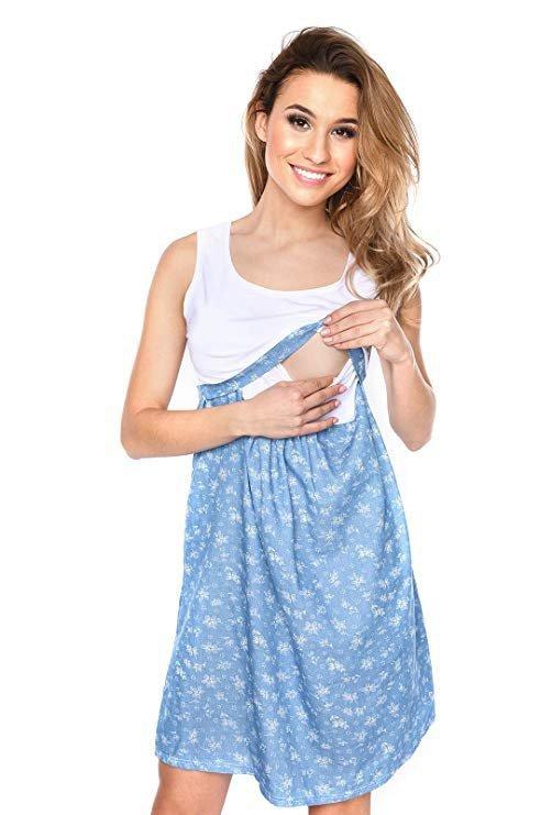 MijaCulture - sukienka ciążowa i do karmienia Sara 2