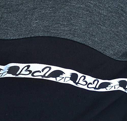 MijaCulture - 3 w 1 bluza ciążowa i do karmienia M72 4111 grafit/czarny 1 3