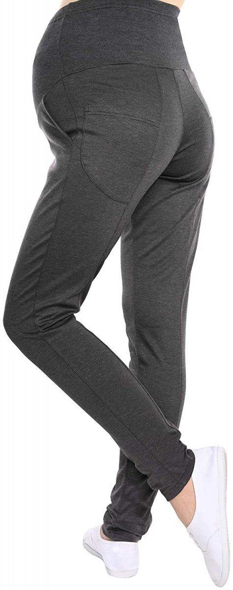 Wygodne spodnie ciążowe Kaja 9043 grafit4