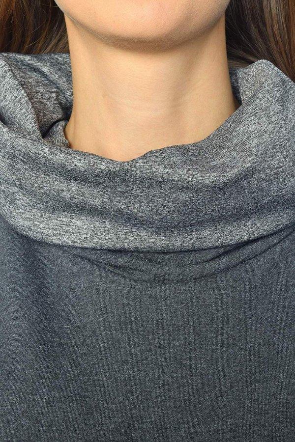 """MijaCulture - 3 w 1 bluza ciążowa i do karmienia """"Lucy"""" 7143 grafit 3"""