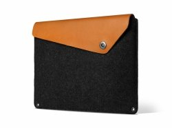 Mujjo Sleeve Etui do MacBook Pro 13 Brown (brązowo-czarny)