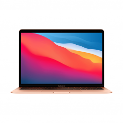 MacBook Air z Procesorem Apple M1 - 8-core CPU + 8-core GPU / 16GB RAM / 1TB SSD / 2 x Thunderbolt / Gold (złoty) 2020 - outlet