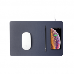 Pout Hands 3 Pro Wireless Charging Mouse Pad - Podkładka ładująca w kolorze Dust Gray (szary)