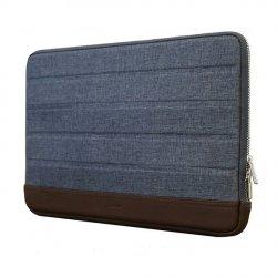 KMP Pokrowiec do MacBook Pro 13 Blue / Brown (niebiesko-brązowy)