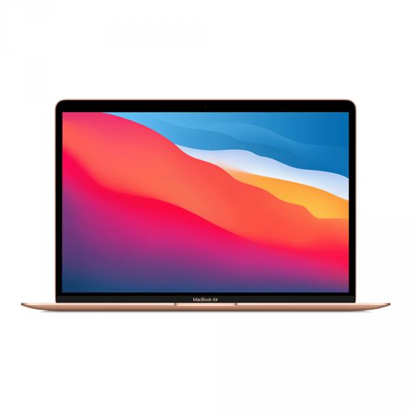 MacBook Air z Procesorem Apple M1 - 8-core CPU + 8-core GPU / 16GB RAM / 512GB SSD / 2 x Thunderbolt / Gold (złoty) 2020 - nowy model