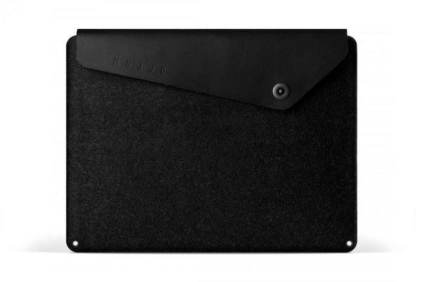 """Mujjo - etui ochronne Sleeve dla MacBook Pro Retina 15"""" (wersja czarna)"""