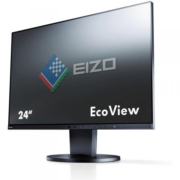 EIZO FlexScan EV2450 24 Czarny IPS FullHD HDMI DisplayPort