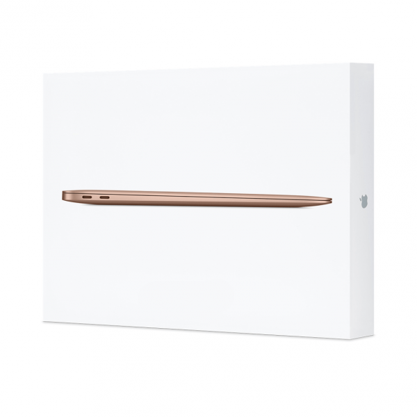 MacBook Air Retina i3 1,1GHz  / 8GB / 256GB SSD / Iris Plus Graphics / macOS / Gold (złoty) 2020 - nowy model