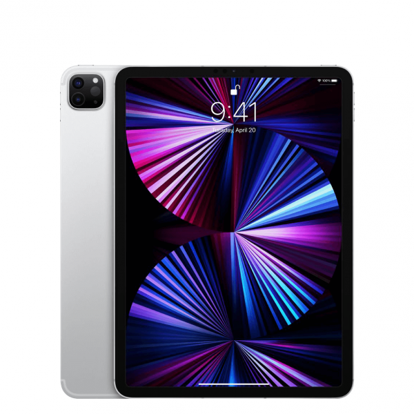 "Apple iPad Pro 11"" 256GB Wi-Fi + Cellular (5G) Srebrny (Silver) - 2021"