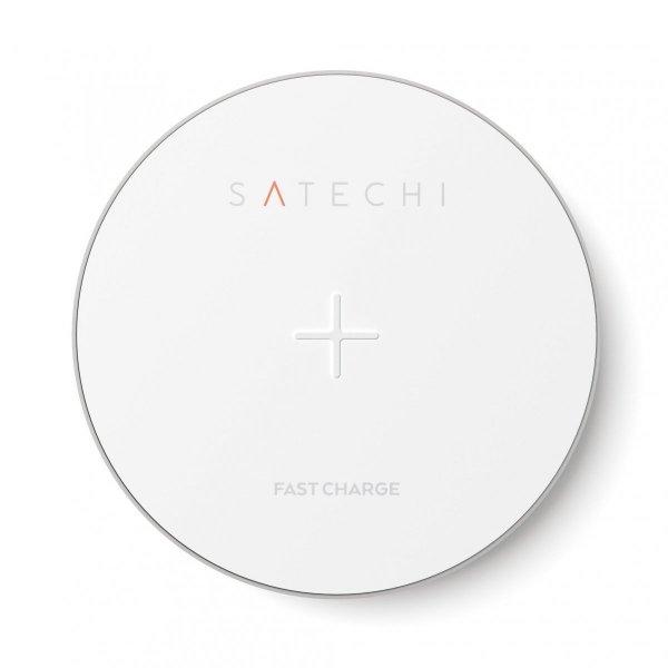 Satechi Aluminium Wireless Charger Silver