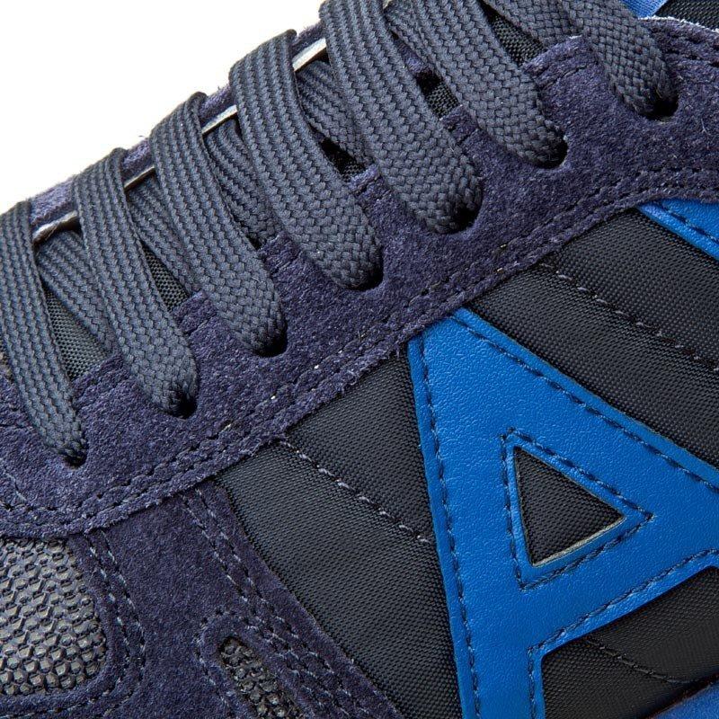 335f15eb2a028 Armani Jeans buty męskie sportowe granatowe - WYPRZEDAŻ