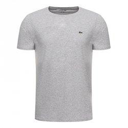 Lacoste t-shirt koszulka męska regular fit szary