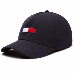 Tommy Hilfiger czapka z daszkiem unisex granatowa