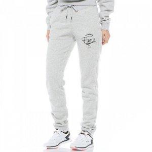 Puma spodnie damskie szare Fitness Athletic Sweat 834347 03
