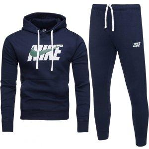 Nike męski sportowy dres komplet granatowy CI9591-410