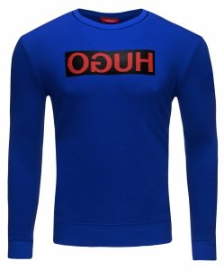 Hugo Boss bluza męska niebieska