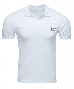 Emporio Armani koszulka polo polówka męska biała