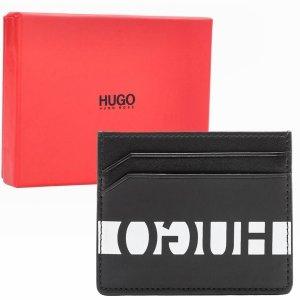 Wizytownik skórzany Hugo Boss etui na karty wizytówki