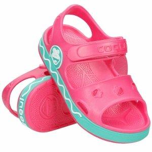Buty Coqui Fobee sandały klapki dziecięce różowe