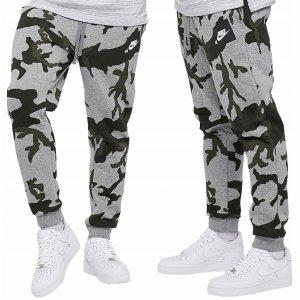 Nike spodnie męskie dresowe szare AH7020-063