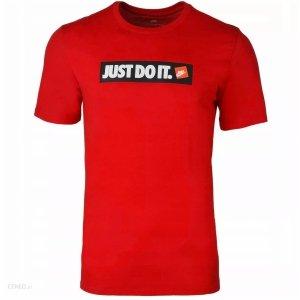 Nike męski t-shirt koszulka czerwona Just Do It AA6412-657