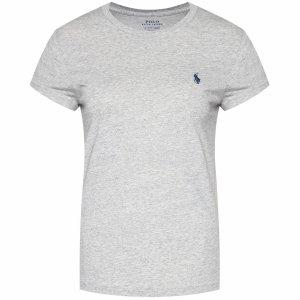 Polo Ralph Lauren t-shirt damski koszulka  slim fit szara