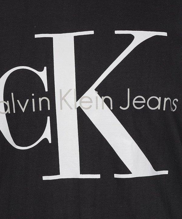 CALVIN KLEIN T-SHIRT KOSZULKA MĘSKA GRAFITOWY