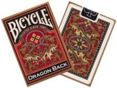 Karty Bicycle Gold Dragon Back