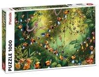 Puzzle Ruyer, Tukany w dżunglinn Piatnik