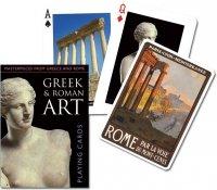 Karty Piatnik Sztuka greków i rzymian