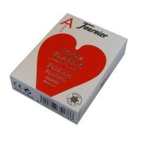Karty Fournier Jumbo Poker 100% Plastik 2800