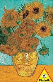 Puzzle 1000 el. - van Gogh, Słoneczniki