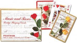 Karty Piatnik Muzyka i róże