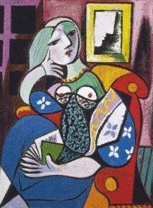 Puzzle Piatnik Picasso, Kobieta z książką
