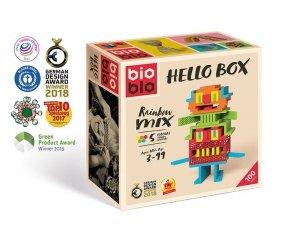 Bioblo 100 klocków Hello Boxn