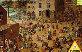 Bruegel, Zabawy Dziecięce
