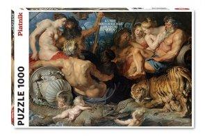 Puzzle Piatnik Rubens, Vier Flusse