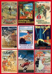 Puzzle, Vintage Poster Transport
