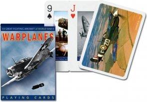 Karty Piatnik Samoloty wojenne
