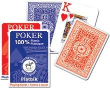 Classic Poker Plastik duże indeksy