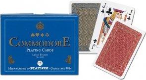 Karty Commodore (niebieskie)