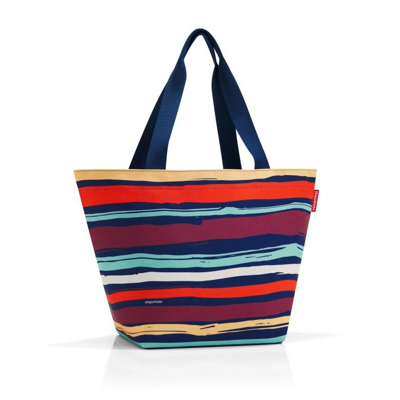 Torba na zakupy Shopper M kolor Artist Stripes, firmy Reisenthel