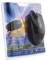 MYSZ DLA GRACZY TM106 USB, 6D, DPI 2000 GOBLIN